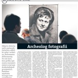 Archeolog fotografii